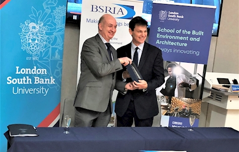 LSBU and BSRIA launch Joint Research and Innovation Centre
