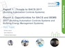 Threats to BACS 2017 (Building Automation Controls Systems) and Opportunities for BACS & BEMS 2017 (Building Automation Controls Systems and Building Energy Management Systems)