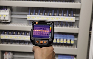 Free smart probe now with the Testo 872 thermal imaging camera