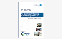 BG 29/2020 Pre-Commission Cleaning of Pipework Systems
