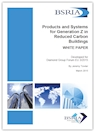 Product and Systems for Generation Z in Reduced Carbon Buildings (withdrawn) (WP 2/2015)